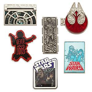 Läs mer om Star Wars Han Solo-pinset, begränsad upplaga