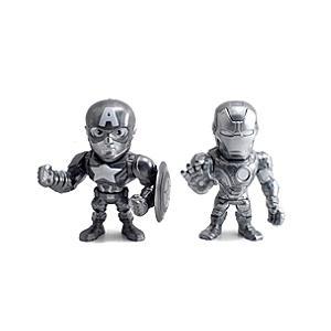 Läs mer om Iron Man och Captain America Metals 10 cm diecast-figurer, Captain America: Civil War