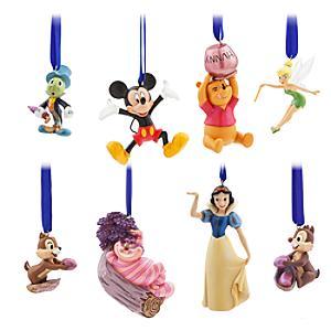 Läs mer om Disney Stores 30-årsjubileum, ornament i begränsad upplaga, set med 8