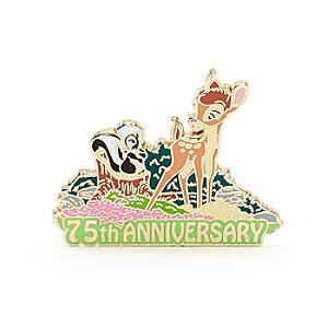 Läs mer om Bambi 75 år jubileumspin i begränsad upplaga