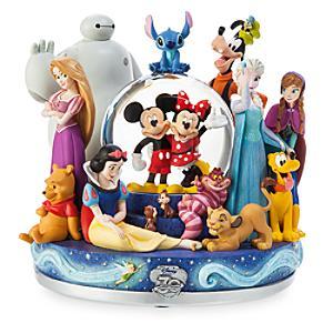 Läs mer om Disney Store 30 år, jubileumssnöglob