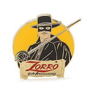 Läs mer om Zorro 60-årsjubileum pin i begränsad upplaga
