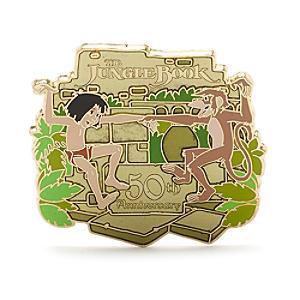 Läs mer om Djungelboken 50-årsjubileum pin i begränsad upplaga