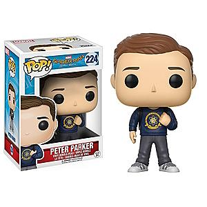 Läs mer om Peter Parker Pop!- figur av vinyl från Funko, Spider-Man: Homecoming