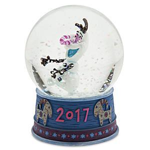 Image of Palla di vetro Olaf, Frozen ? Le Avventure di Olaf