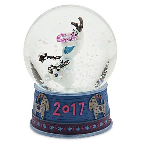 Boule À neige olaf, joyeuses fêtes avec olaf