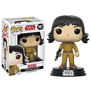 Läs mer om Rose Pop! Vinylfigur från Funko, Star Wars: The Last Jedi