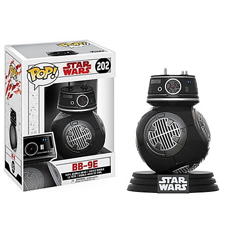 Figurine Funko Pop! BB-9E en vinyle, Star Wars: Les Derniers Jedi