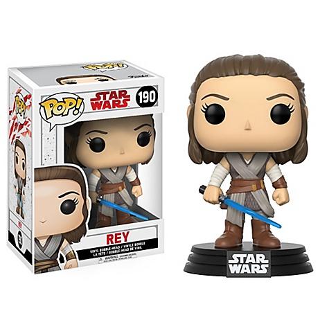 Figurine Funko Pop! Rey en vinyle, Star Wars: Les Derniers Jedi