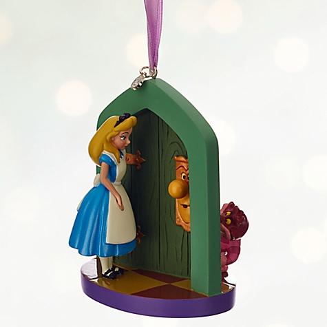 Décoration de Noël Alice au Pays des Merveilles