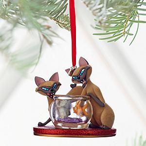 Läs mer om Si och Am juldekoration, Lady och Lufsen