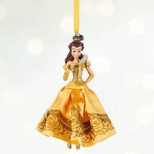 Läs mer om Belle i balklänning juldekoration