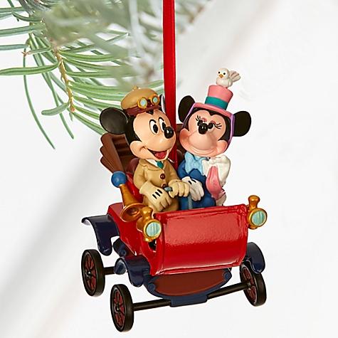 Décoration de Noël Mickey et Minnie Mouse