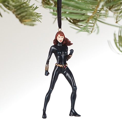 Décoration de Noël Black Widow