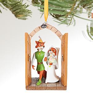 Läs mer om Robin Hoods bröllop juldekoration