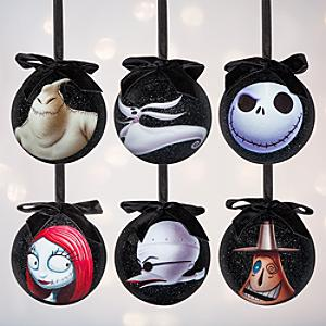 The Nightmare Before Christmas Baubles Set Of 6