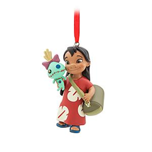 Läs mer om Lilo och Scrump hängande ornament, Lilo och Stitch