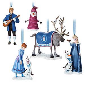 Läs mer om Olofs frostiga äventyr hängande julornament, 5 st