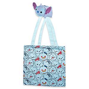 Läs mer om Stitch Tsum Tsum hopvikbar shoppingväska