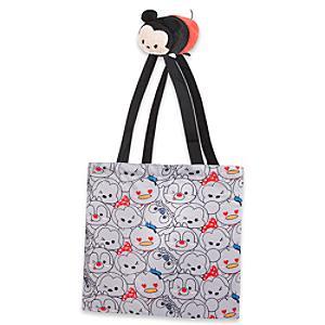 Läs mer om Musse Pigg Tsum Tsum hopvikbar shoppingväska