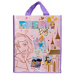 Läs mer om Disney Prinsessor återanvändbar shoppingväska av standardstorlek
