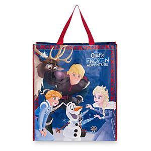 Läs mer om Olaf's Frozen Adventure stor återanvändbar shoppingväska