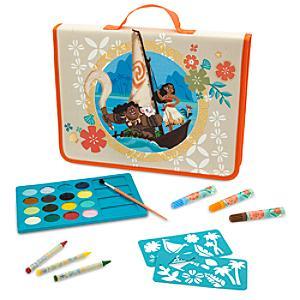 Läs mer om Vaiana pennfodral med pennor