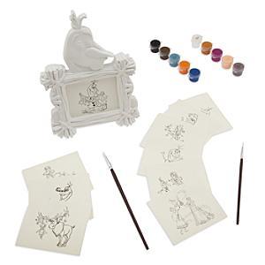 Läs mer om Olaf's Frozen Adventure målarset för tavelram