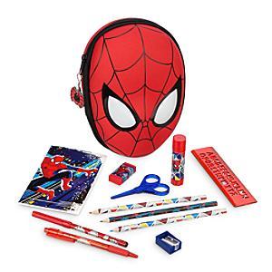 Läs mer om Spiderman pennfodral med pennor
