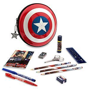 Läs mer om Captain America pennfodral med pennor