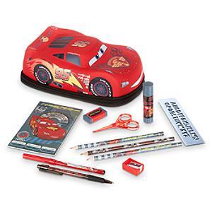 Läs mer om Disney Pixar Bilar pennfodral med pennor