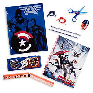 Läs mer om Captain America set med skrivmateriel