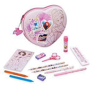 Läs mer om Disney Prinsessor pennfodral med pennor