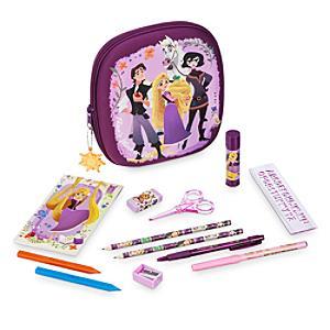 Läs mer om Rapunzel pennfodral med pennor, Trassel: TV-serien