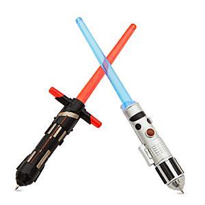 Image of Set penne luminose spada laser Star Wars: Gli Ultimi Jedi