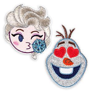 Image of Toppe adesive Frozen - Il Regno di Ghiaccio Disney Emoji