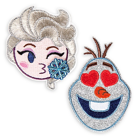 ‰cussons Autocollants la reine des neiges, disney emoji