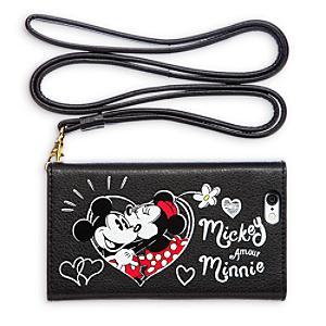 Läs mer om Musse och Mimmi Pigg plånbok och telefonfodral