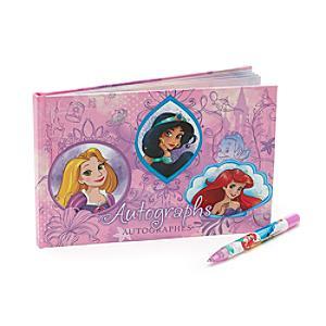 Läs mer om Disney prinsessor autografbok