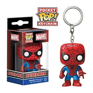 Läs mer om Pop! Spider-Man nyckelring i vinyl