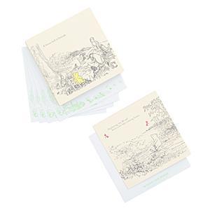 Läs mer om Nalle Puh set med korrespondenskort