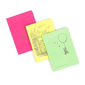 Läs mer om Nalle Puh dagböcker i A6-format, set om 3
