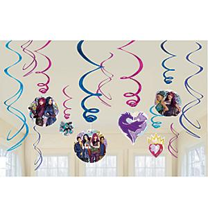 Disney Descendants 2 - Partydekorationen, spiralförmig