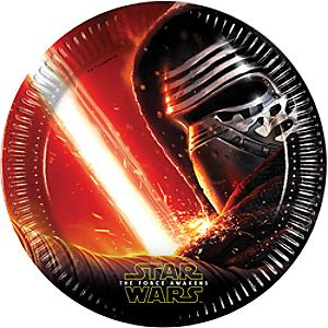 Star Wars: The Force Awakens 8x partytallrikar