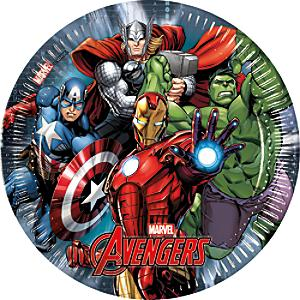 Avengers 8x partytallrikar