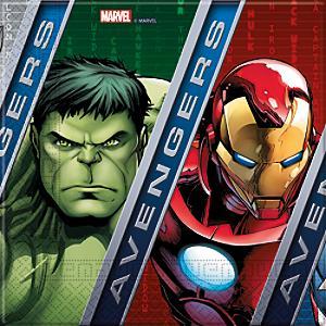 Läs mer om Avengers 20x partyservetter