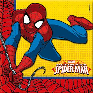 Spider-Man 20x partyservetter