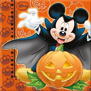 Läs mer om Musse Pigg 20x halloween partyservetter