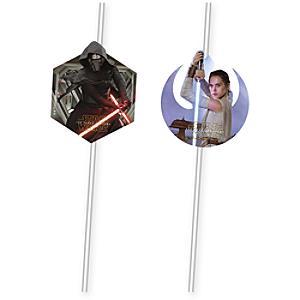 Läs mer om Stars Wars: The Force Awaken 6x böjbara sugrör