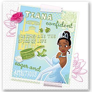 Läs mer om Tiana 20 st partyservetter, Prinsessan och Grodan